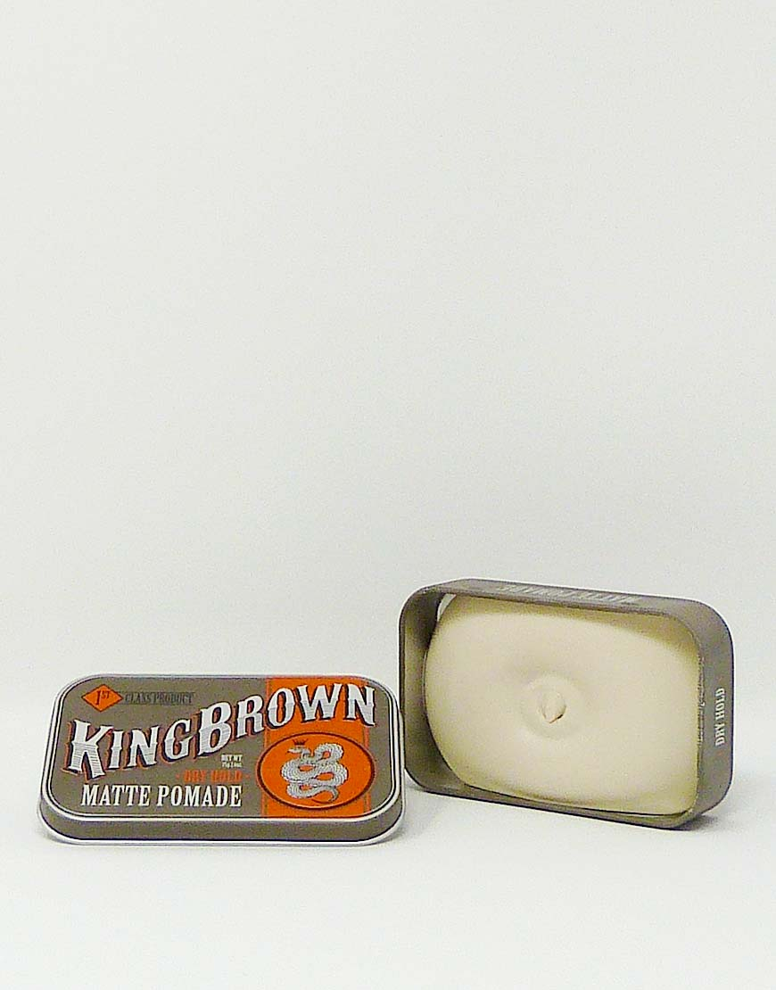 King Brown Matte Pomade 75g